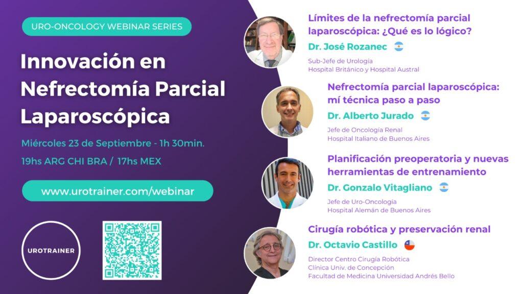 Innovacion en nefrectomia parcial laparosopica